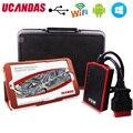 Original UCANDAS VDM Wifi Multi-idiomas V3.9 + VIENTO 10 Sistemas Completos de Mesa Profesional Herramientas de Diagnóstico Auto OBD2 Escáner