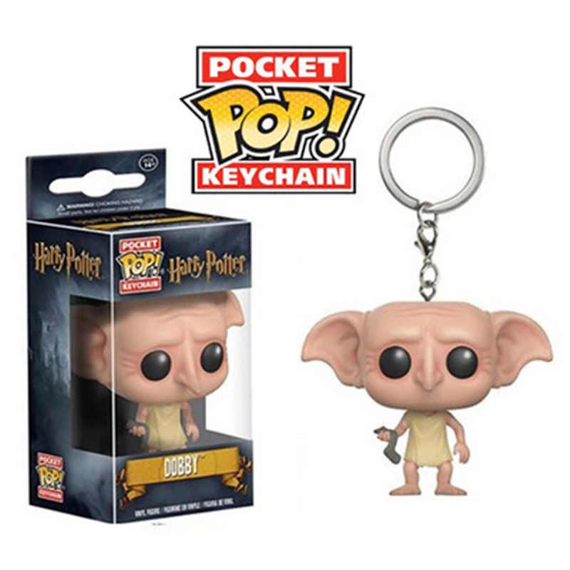 Funko pop Harri Potter JASON VOORHEES NARUTO pvc modelo figura de ação VEGETA GOKU Grootted pop chaveiro brinquedos para presente das crianças