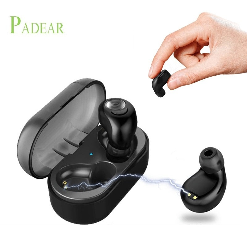 New Mini invisible wireless Earbuds In-ear Bluetooth Stereo Earphone Headsets earpiece for Apple iphone8/7s/7/6s/6 plus hbq i7 tws wireless earphone bluetooth headset in ear invisible earbud with mic for iphone 7 plus 8 6 6s 5 s 5s samsung s8 note8