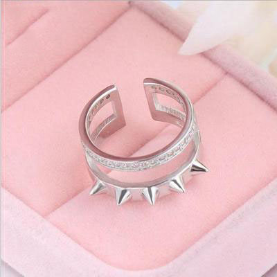 Ladies' Special Body Ring Women's Body Armor Hidden Weapon Anti-Wolf Weapon Mechanism Fight Willow Tiger Finger Ring Sterling