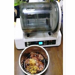 Image 3 - 220 V Elektrische Vacuüm Voedsel Marinator Tumbling Machine Huishoudelijke Vacuüm Beitsen Machine Kip Burger Gemarineerd Spek