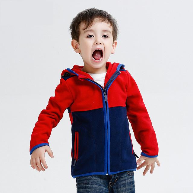 Novo 2016 crianças crianças roupas meninos camisolas hoodies meninos polar do velo com capuz camisolas de alta qualidade bebés meninos hoodies