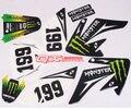Crf70 Águila Grande 3 M conjunto motocross calcomanías etiquetas del coche pegatinas coche pegatinas coche 3 M protector solar resistente al agua