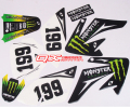 crf70 Big Eagle 3M decals motocross whole car decals car stickers car stickers 3M waterproof sunscreen