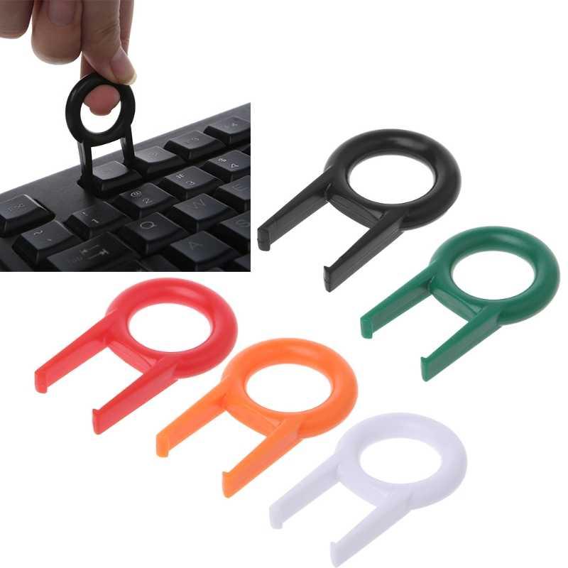 Removedor de llaveros de teclado mecánico para teclados herramienta de fijación de llaveros