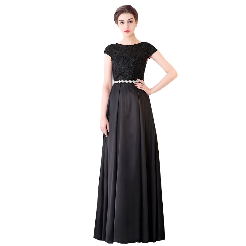 2017 New Summer Banquet Female Dress Long Section Birthday Party Long Dress Noble Dress Large Size Comfortable Vestidos ls181