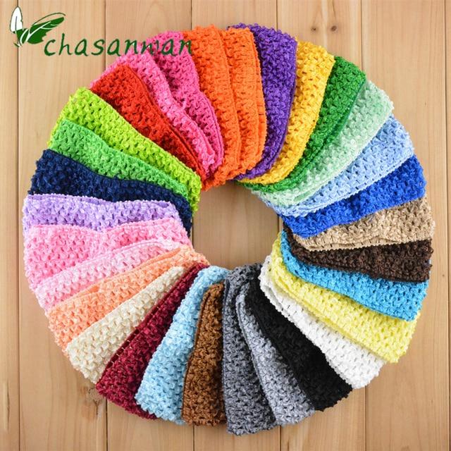 tulle tutu baby shower gifts diy girl headband crochet elastic knit