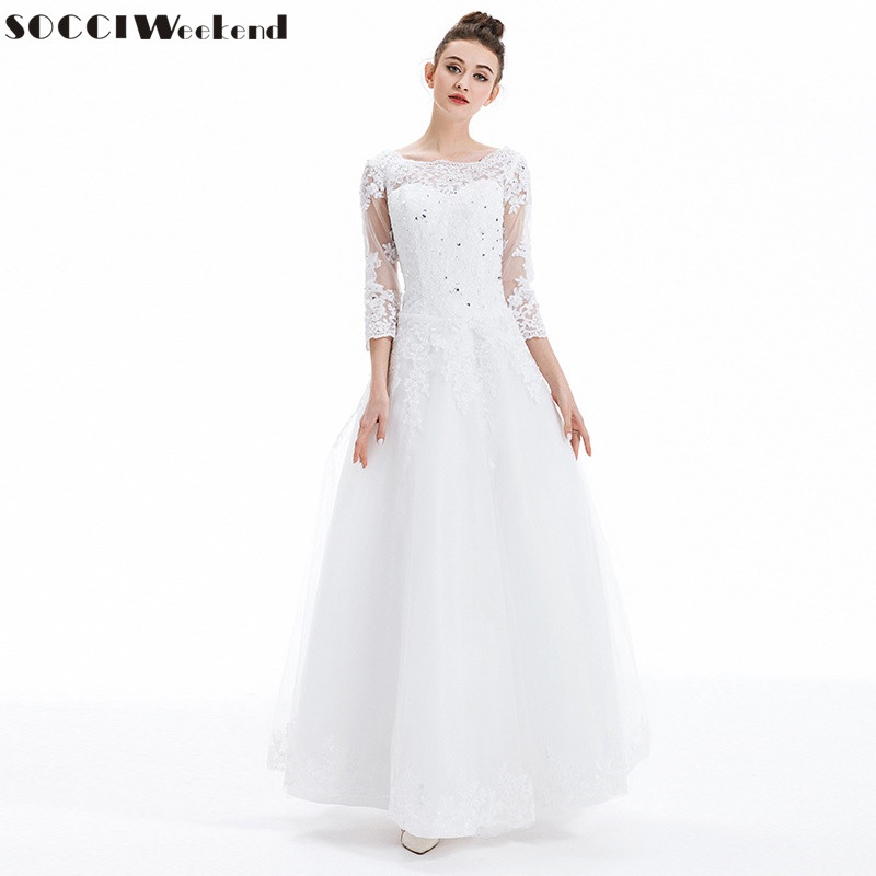 Wedding Dresses 2019 SOCCI Vestido De Noiva Luxury French