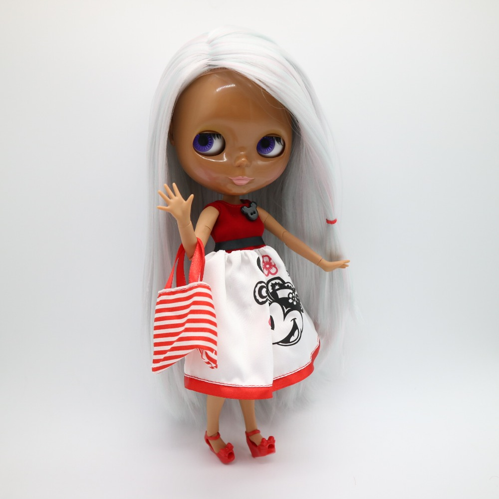 joint body Nude blyth Doll,Fashion doll Suitable For DIY