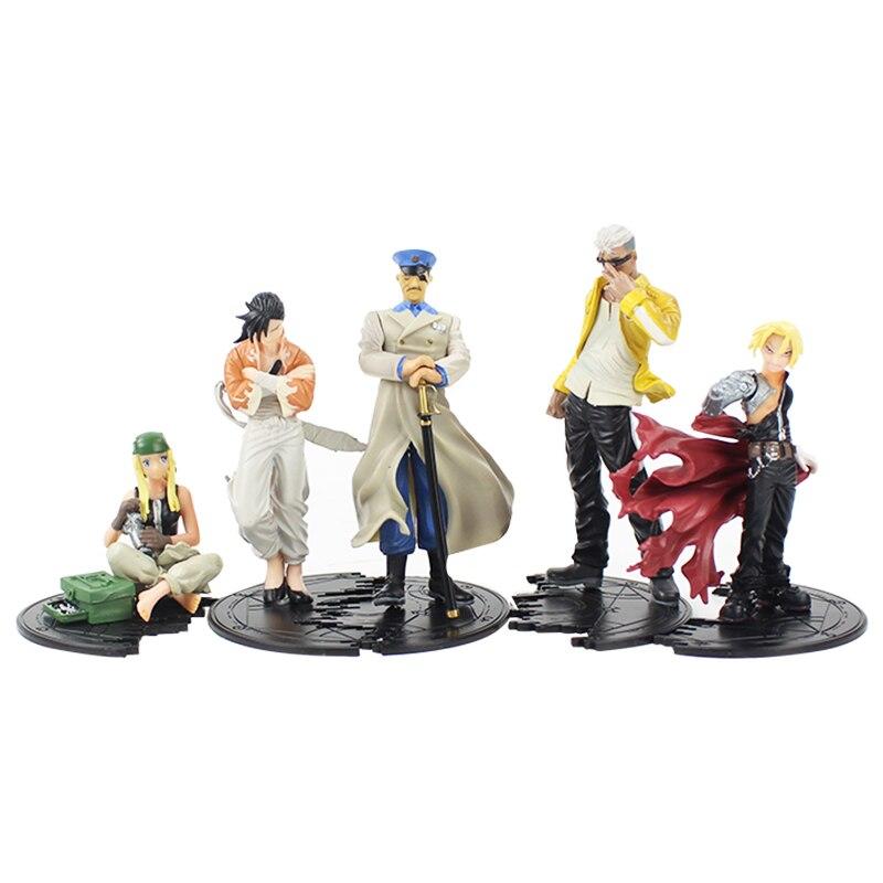 HOT Anime Figure Toy Model Fullmetal Alchemist Set of 5pcs ...