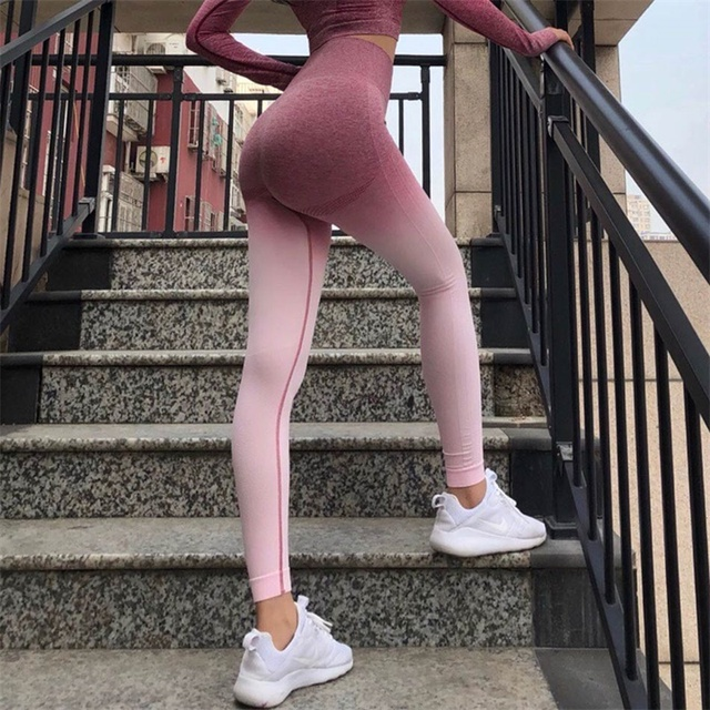1fb3439911a402 New Women Seamless Leggings Push Up Athleisure leggings High Waist Workout  Jogging Pants For Women Sporting Wear Gym Leggings