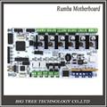 3D принтер материнская плата BIQU румба MPU/3D аксессуары для принтеров РУМБА оптимизированная версия управления Совета