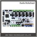 Placa mãe da impressora 3D rumba BIQU MPU/acessórios da impressora 3D Placa de controle otimizado versão RUMBA