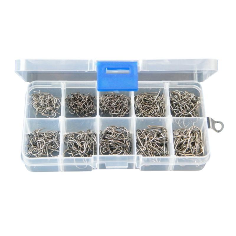 Ψάρεμα Tackle Box 500 τεμάχια / παρτίδα 3 # -12 # - Αλιεία - Φωτογραφία 4