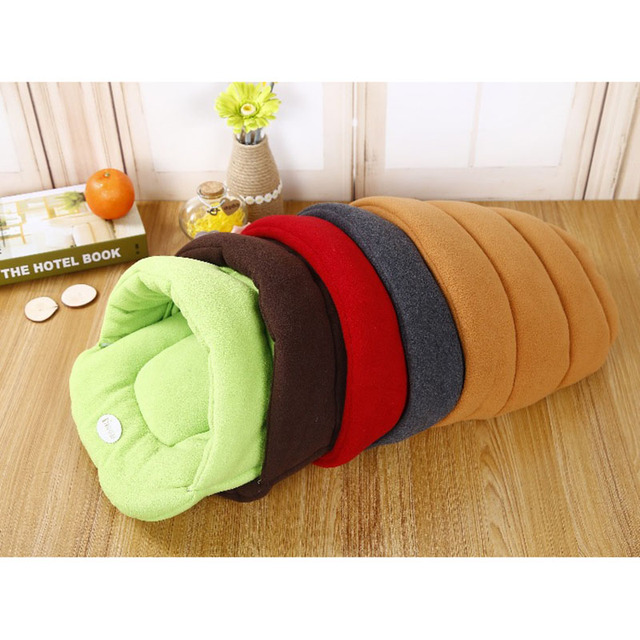 Hot! Pet Cat Bed Small Dog Puppy Kennel Sofa Polar Fleece Material Bed Pet Mat Cat House Cat Sleeping Bag Warm Nest High Quality 5