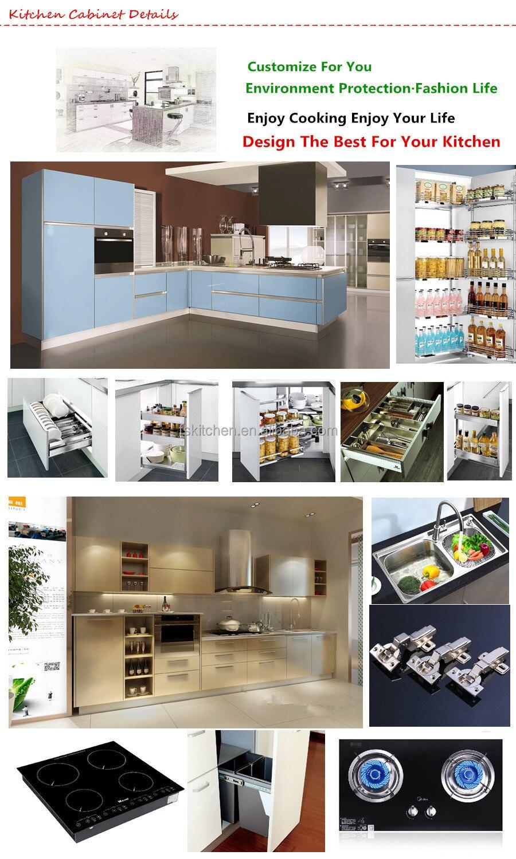 Madera de teca gabinete de cocina y cocina de madera maciza muebles ...