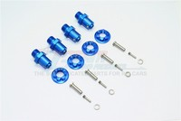 1/10 TRAXXAS trx 4 ALUMINUM 17MM HEX ADAPTERS FOR FRONT and REAR