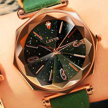 2019 Woman Wrist Watches Women Clock Starry sky Crystal Ladies Watch Luxury Brand Female Lady Watches For Women Relogio Feminino(China)