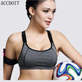 S-L 4 Colors Women Push Up Bra Fashion Cotton Wire Free Bras Seamless Underwear Slim Bra With Padded Fashion Workout Bra