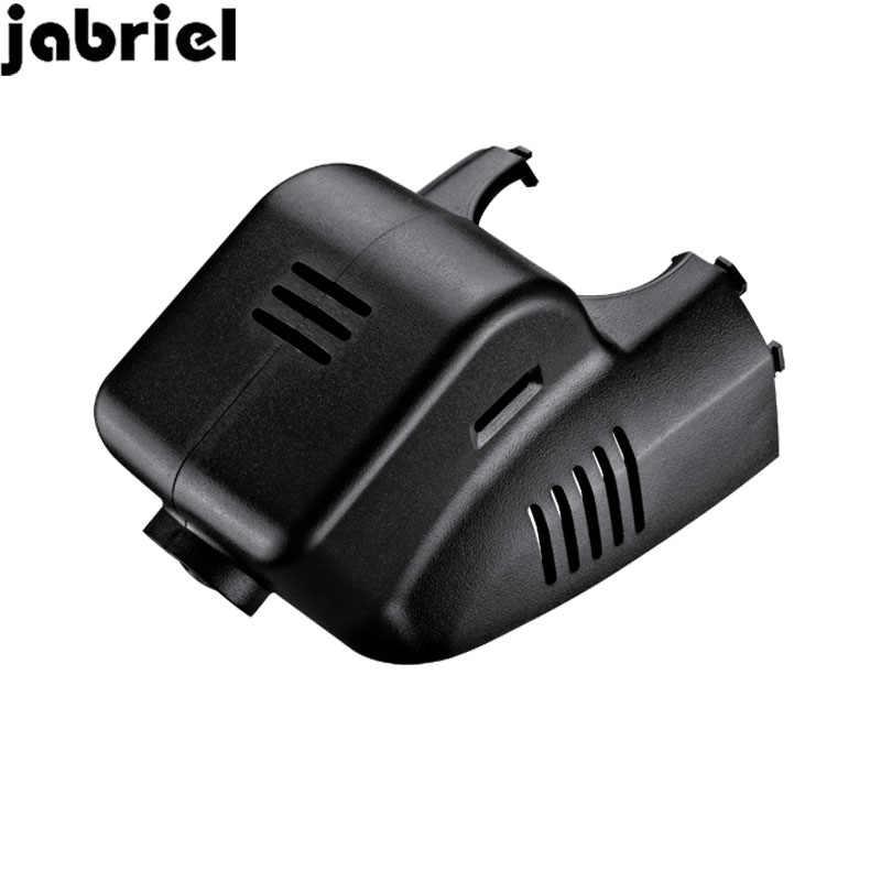 Jabriel wifi 1080 P kamera samochodowa DVR ukryte kamery cofania wideorejestrator do jazdy samochodem z dwoma obiektywami dla 2015 2016 2017 2018 Cadillac XTS