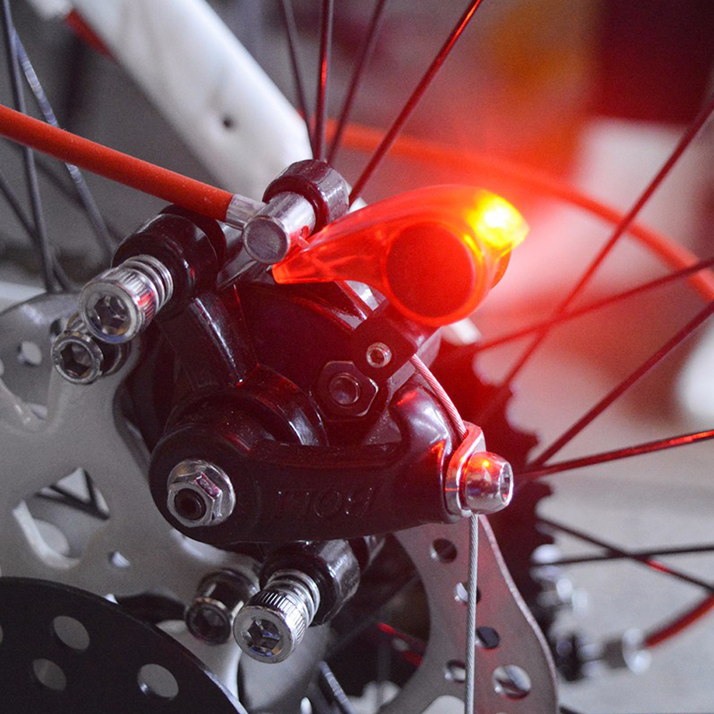 2018 High quality Bicycle Brake Light Safety Road Bike Warning LED Lights Folding MTB Cycling Suitable Automatic Control