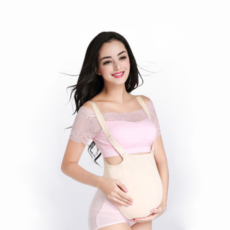 Artificial Silicone Pregnancy Belly Cross Dresser Pregnant Bump Cosplay Belly - as picture shows,1000g