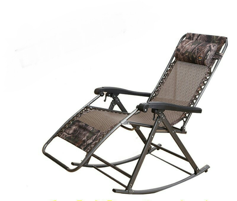Aliexpress Sun Loungers Outdoor Furniture Beach Chairs Portable Adjule Foldable Casual Rocking Chair Mesh Steel Whole Hot New From