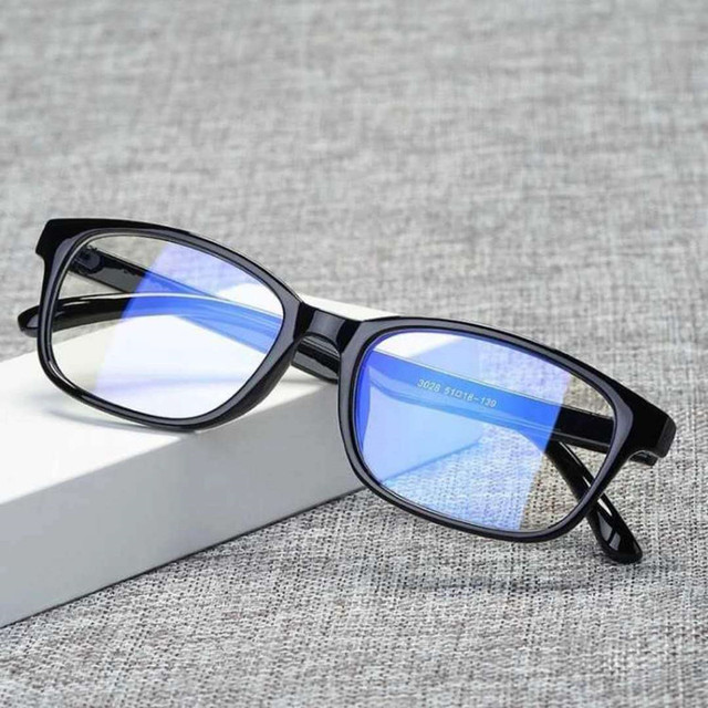 Gafas de ordenador Anti rayos radiación PC montura Unisex de impresión óptica