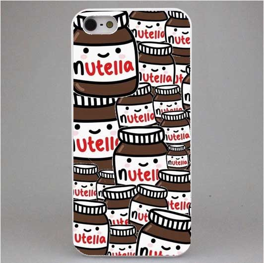 Bien connu Tumblr Nutella Case For iPhone 4 4S 5C 5 5S SE 6 6S 6Plus 7 7Plus  SP72