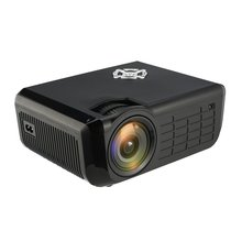 M28 Portable LED Projector 58W LCD Digital AV HD 1080P Projector Multimedia Home Theater Cinema TV Laptops Video Projector