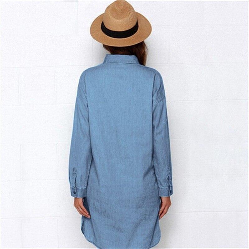 Igapäevane sinine kleit taskutega