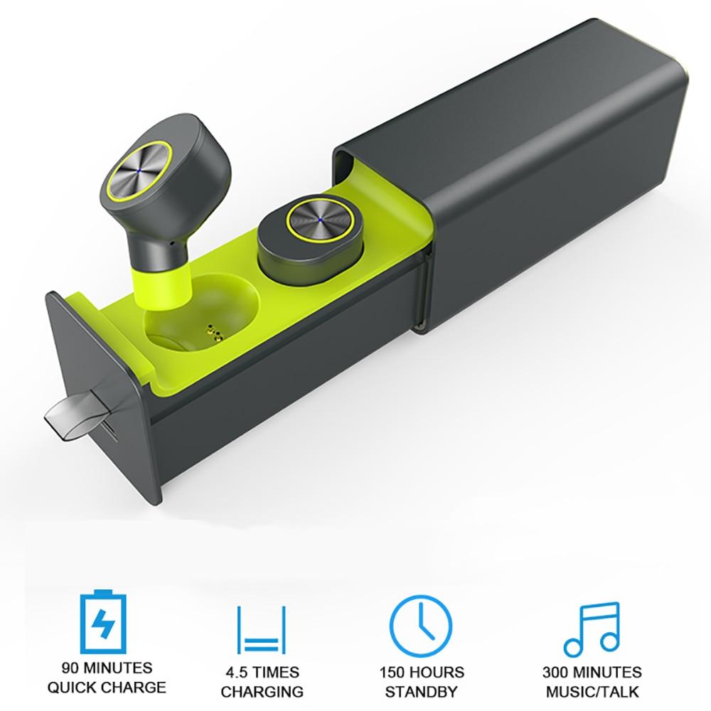 New Wireless In Ear True TWS Sport Bluetooth Earbuds Best Cordless Earphones With Mic Smallest Stereo Sweatproof Headset
