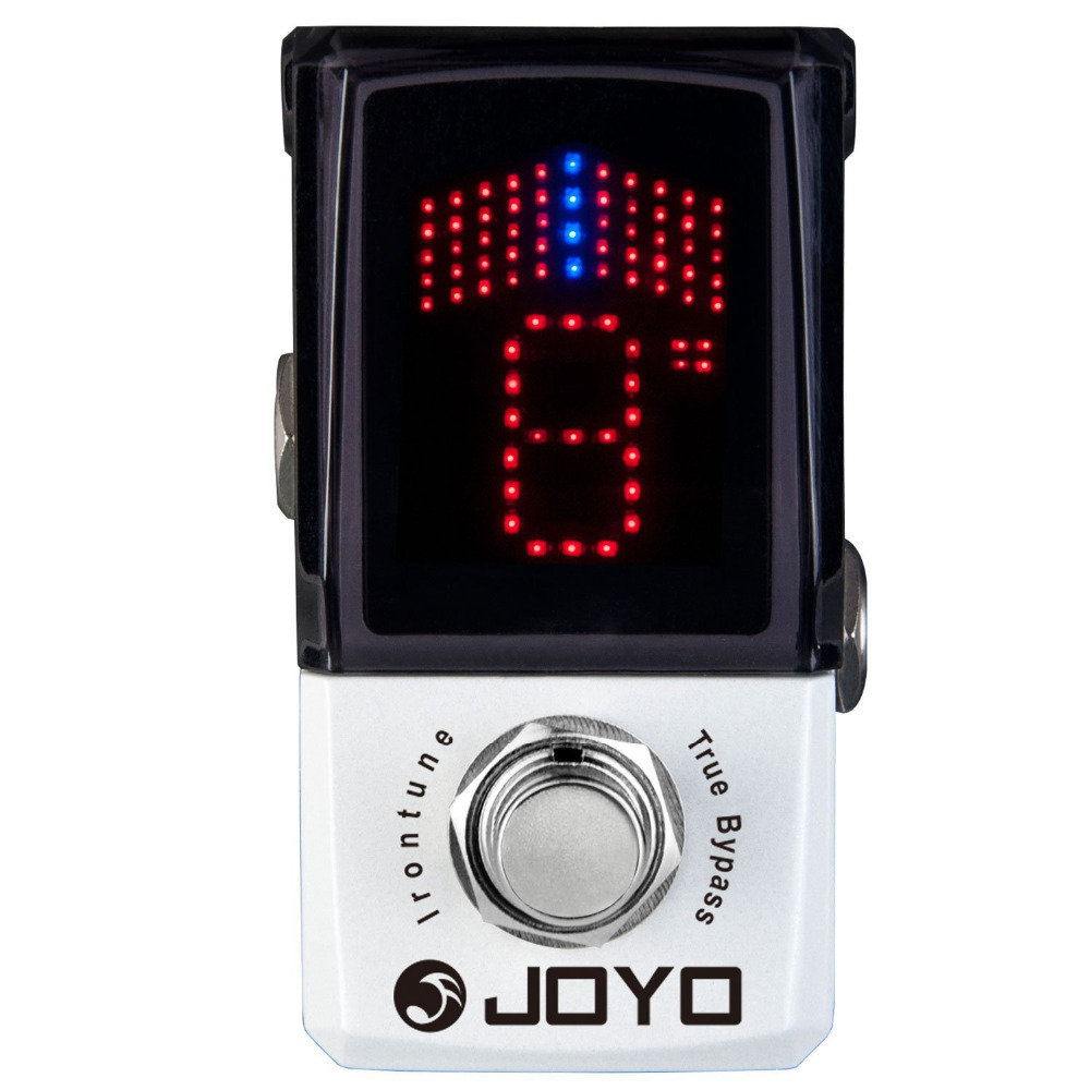 JOYO JF-326 Irontune Mini Electric Bass Guitar Effect Pedal with Knob Guard True Bypass joyo jf 317 space verb digital reverb mini electric guitar effect pedal with knob guard true bypass