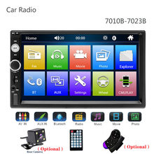 "Universal 2 din Car Multimedia Player Autoradio 2din Stereo 7"" Touch Screen Video MP5 Auto Radio Backup Camera(China)"