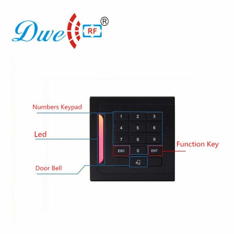 DWE CC RF Standalone Access Controller 125khz EM ID 13.56MHZ MF Keypad Management DW-05A все цены