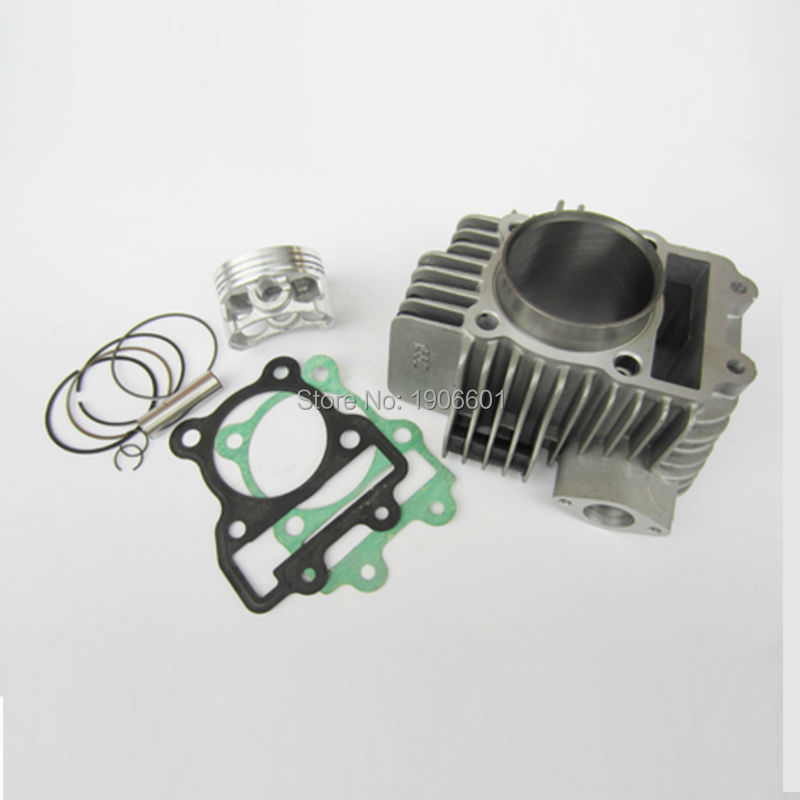 цена на Zongshen 155z Engine Cylinder with 60mm piston kit cylinder head gasket for Kayo 150 155 160cc Dirt Pit Bikes