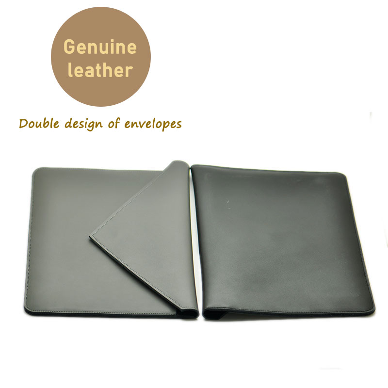 Envelope tablet Bag super slim sleeve pouch cover,Genuine leather tablet sleeve case for apple iPad Pro 12.9 inch цена