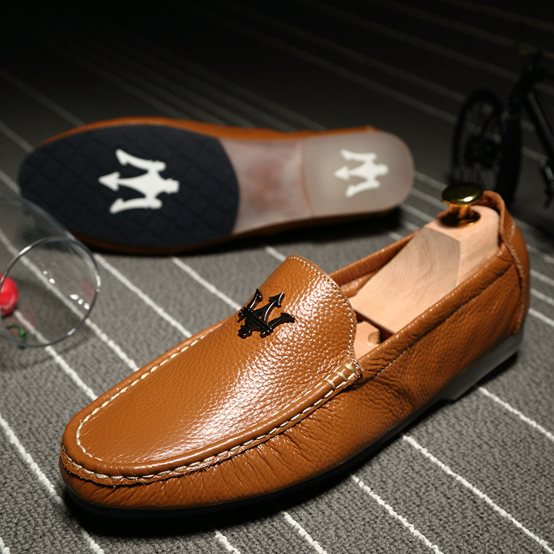 Men Shoes Genuine Leather Loafers Slip On Fashion Casual Driving Shoes Mocassins Flats Sapatos Masculinos Social Zapatos Hombre fashion nature leather men casual shoes light breathable flats shoes slip on walking driving loafers zapatos hombre