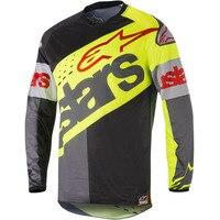 Cycling Shirt Vintage Long Sleeve Motorbike Smot Jersey Downhill Jersey Motocross Motorcycle Mountain Bike Jersey MX