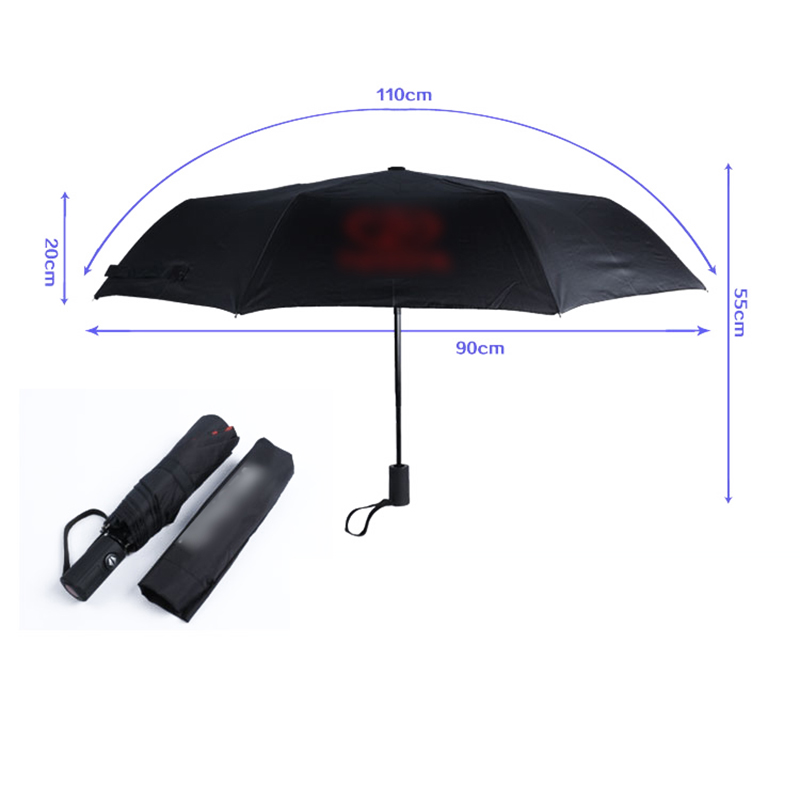 Image 3 - New Fully automatic Strong Frame Windproof Gentle Car for Toyota Logo Umbrellas Sun Rain Folding Wind Resistant for woman&men-in Waterproof Umbrella Sets from Automobiles & Motorcycles
