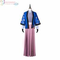 Бунго бродячих Товары для собак Хагивара sakutarou кимоно костюм Косплэй костюм, идеальный для вас!