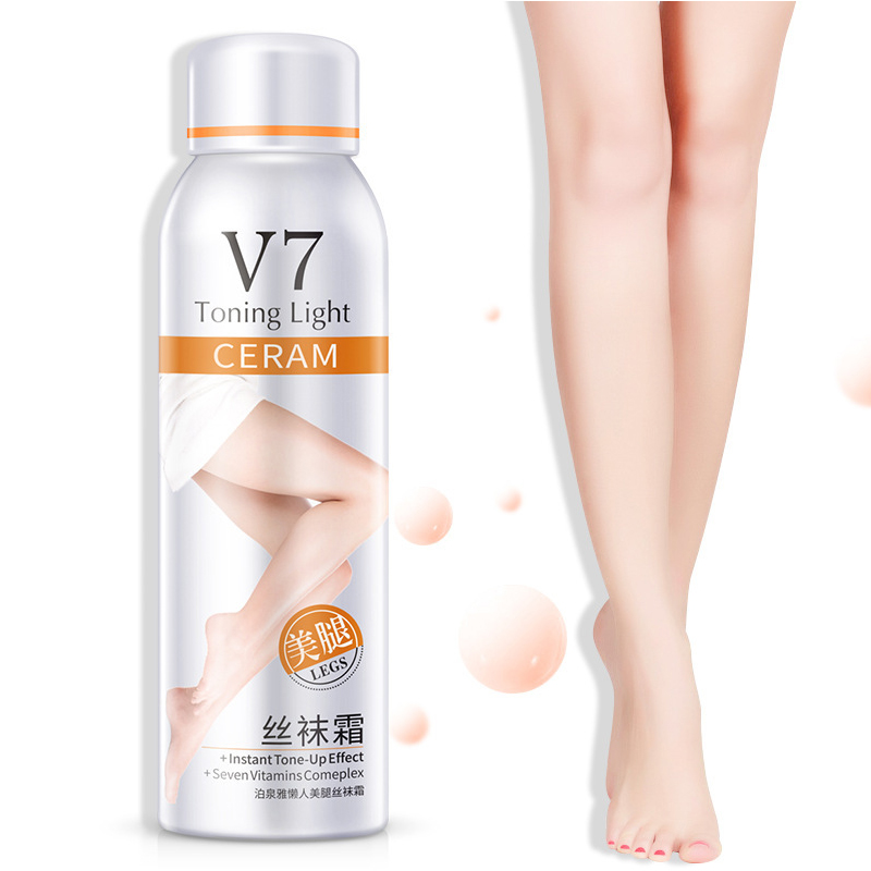 BIOAQUA V7 Liquid Stockings Toning Light Spray Pantyhose Compression Ultraviolet Tight Skin Silk Maing Oil Control Viagra Spray сливки spray pan взбитые ультрапастеризованные 27