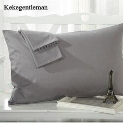2 Pieces 100% Cotton Solid Color Pillowcase 15 Solid Color Pillow case Bedding 48x74cm Envelope Pillow cover