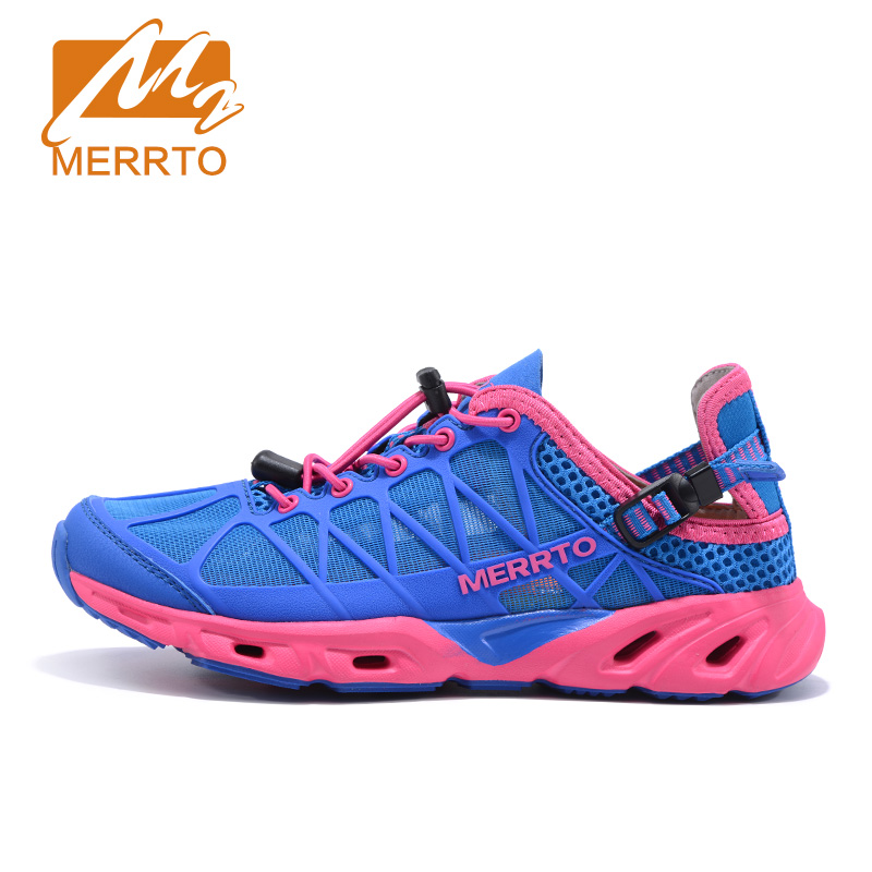 MERRTO Brand  lifestyle lace-up Mesh outdoor  running sport shoes  for  Women breathable and  comfortable  sneakers#MT18675 kelme 2016 new children sport running shoes football boots synthetic leather broken nail kids skid wearable shoes breathable 49