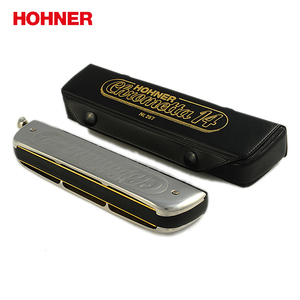 Image 5 - Hohner 257 14穴クロマチックハープchrometta 14ハーモニカ、キーのcメジャー