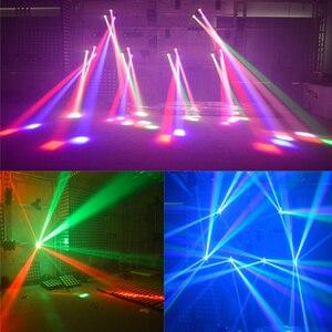 Image 3 - IMRELAX 3 Đầu Di Chuyển Đầu Cá Nhân Điều Khiển 3*10W RGBW 4in1 Đèn LED Tam Giác DMX DJ Sân Khấu disco Ánh Sáng