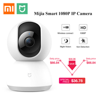 Updated Version Xiaomi Mijia 1080P HD Smart IP Camera 360 Angle Video CCTV WiFi Pan tilt Night Webcam Baby Security Mornitor Cam