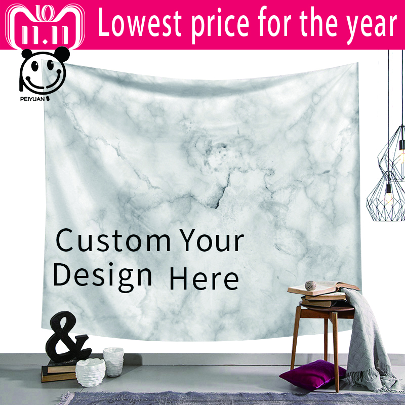 PEIYUAN Night Sky Wall Tapestry Home Decorations Hanging Forest Starry Tapestries For Living Room Custom