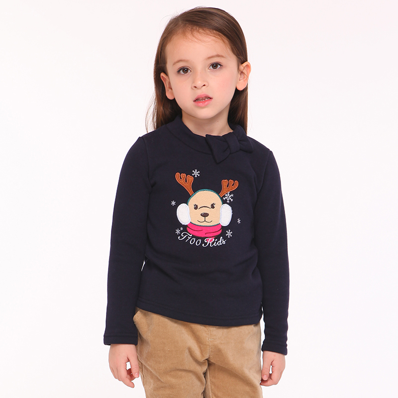 T100 T-shirts Cotton Autumn Long Sleeve T-shirts For Girls Children's Clothing T-shirt For Girls Kids Cartoon Cute T-shirt cotton cartoon t shirts