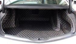 Dobre dywany! Specjalne bagażnika samochodu cargo liner maty dla Cadillac CT6 2017 wodoodporna boot dywany dla CT6 2016  darmowa wysyłka